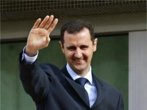 PREZ ASSAD SAYS SAYONARA TO SA'OOD AL-FAYSAL AGAIN! SYRIA AGLOW WITH NEWS OF MONKEY'S DEPARTURE TO HELL 3