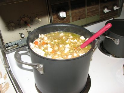 cooked soup